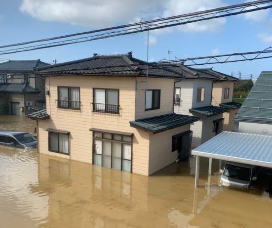 【激甚災害】2019年 台風19号による被害 - 水没した家