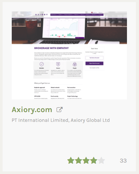 AXIORYの口コミ - AXIORY(アキシオリー)のメリット デメリット 口コミ 口座開設